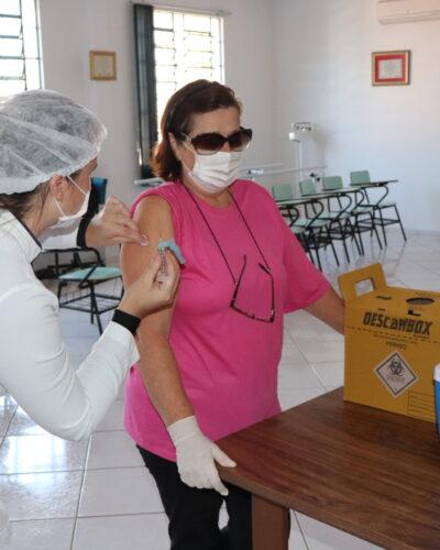 VACINAÇÃO DA GRIPE A PARTIR DA SEGUNDA-FEIRA, 12