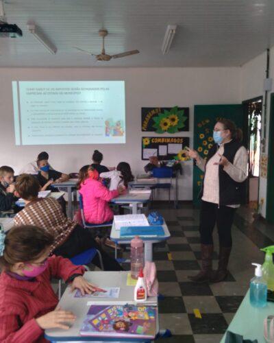 ALUNOS DA SAP APRENDEM EDUCAÇÃO FISCAL