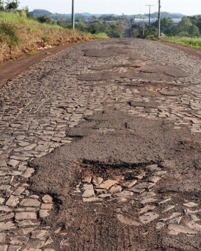 RECURSO PARA ASFALTO NA ESTRADA POLIÉDRICAS LIBERADO