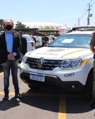 BRIGADA MILITAR RECEBE NOVA VIATURA POLICIAL